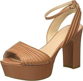 Guess Footwear Dress Sandal, Escarpins à Plateforme Femme, Vert (Green Blugr), 37 EU