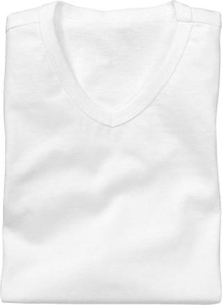 2 Herren-T-Shirts (Weiß) HEMA