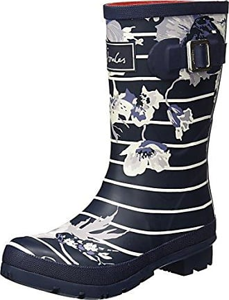 Joules Molly Welly, Botas de Agua para Mujer, Rojo (Red Indienne Floral), 36 EU