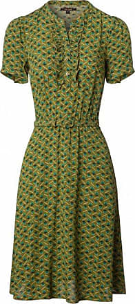 60s Gaya Caramba Dress in Posey Green King Louie
