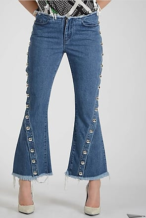 25cm Boot Cut Jeans with Stud Größe 10 Marques Almeida