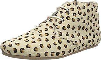Maruti Gimlet Hairon Leather, Bottines Femme, Beige (Leopard Bege Brown noir), 37 EU