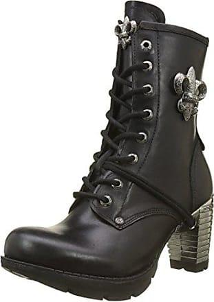 New Rock M.NEWMILI083-S19, Rangers Boots Mixte Adulte, Noir (Negro 001), 41 EU
