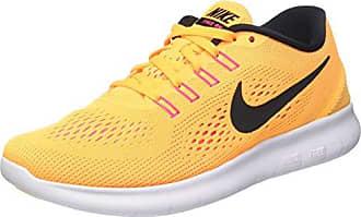 Nike Free Run, Chaussures de Running Entrainement Femme - Orange (Laser Orange/Black/Pink Blast) - 37.5 EU