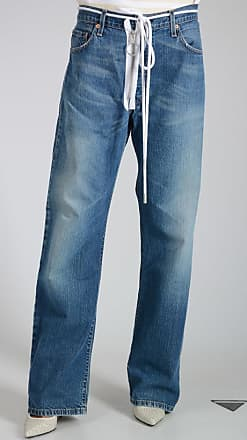 21cm Vintage Wash Denim Jeans Größe 29 Off-white