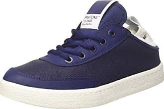 Pantone Tokyo, Baskets Hautes Mixte Adulte, Bleu (Mood Indigo 71), 37 EU
