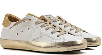 Philippe Model Sneaker Donna In Saldo, Glitter Bronze, pelle, 2017, 36 37 40 41