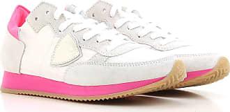 Philippe Model Sneaker Donna In Saldo, Limone, Pelle Scamosciata, 2017, 35 36 37 38 40