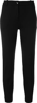 cropped tapered trousers - Schwarz Pinko