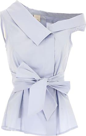 Top für Damen Günstig im Sale, Azur-Blau, Baumwolle, 2017, 44 Pinko