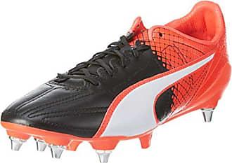 Puma Evospeed SL II L Tricks Mix, Chaussures de Football Compétition Homme, Noir-Schwarz noir blanc-Red Blast 03, 44.5 EU