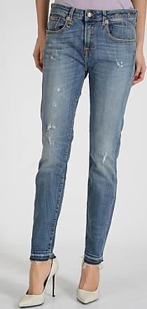 14cm Stretch Denim Distressed Jeans Größe 30 R13