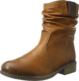 Damen Z4180 Stiefel, Braun (Cayenne/Kastanie), 39 EU Rieker