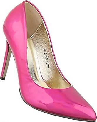 Damen Schuhe Pumps High Heels Stiletto Pink 37 Schuhcity24 X0y2E