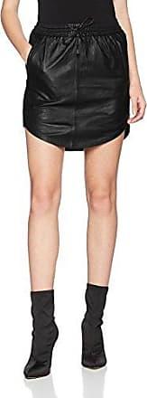 Damen Rock Pril Leather Skirt Second Female