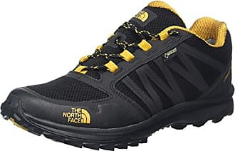 The North Face Litewave Fastpack Gore-Tex, Chaussures de Randonnée Basses Homme, Multicolore (TNF noir/Arrowwood Yellow), 39 EU