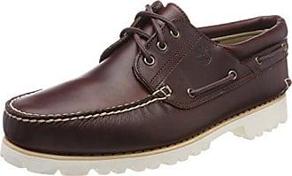 Timberland Cedar Bay, Mocassins (Loafers) Homme, Marron (Dark Brown Pull Up 242), 50 EU