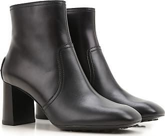 Stiefel für Damen, Stiefeletten, Bootie, Boots Günstig im Sale, Schwarz, Leder, 2017, 35 37 39 39.5 40 Tod's