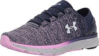 Under Armour UA Charged Bandit 3 Ombre, Chaussures de Running Homme, Rose (Neon Coral 600), 42.5 EU