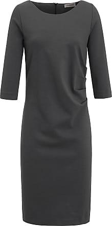 Jersey-Kleid 3/4-Arm Uta Raasch grau Uta Raasch