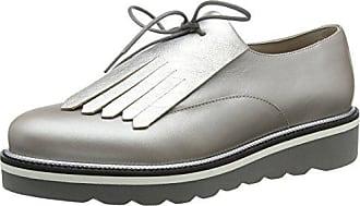 Hilfiger Eu Zapatos Up Tommy 38 Cordones Dorado Para De Mujer Lace Leather moonbeam Derby Shoe Pearlized 009 Sqgwap