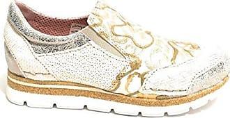 Silver 35 Eu Sneaker Größe Clocharme Damen Gold Silver YwI0q