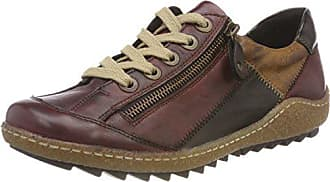 chestnut Antik Remonte 36 Eu Sneakers Femme Rouge R4702 medoc Basses 35 wZCqZHY