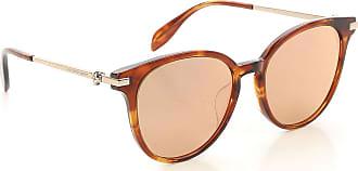 sol 2017 rebajas en rayas Mcqueen marrón Gafas Alexander única de a talla B6w5BCq