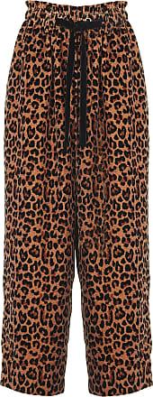 Taille Batik Normale Léopard Large Pantalon En Antik Imprimé Velours xtvFawHv