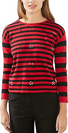 Edc 116cc1i013 Red Esprit Rouge Femme dark Pull By qazw1qU