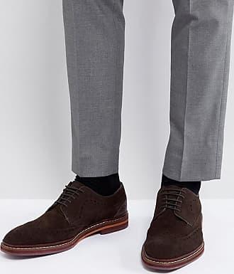 Marrón Oxford Ante Zapatos Baker En Gourduns De Ted xqRfTwFw