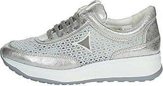 Iv8137a Silber Damen gm Niedrige Sneakers 38 002 Cinzia Soft Sx0wq5nZnR