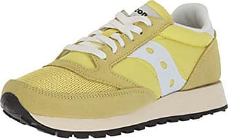 Jazz Sneaker Vintage Damen Saucony Original Yellow White 9 Uk dgq1WRx