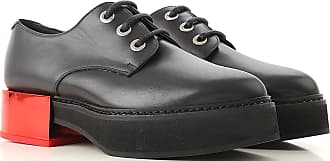 5 Leather 38 36 37 In Black On Mcqueen 40 Shoes Oxford Alexander 5 5 37 2017 Outlet Brogues Sale q7wAg