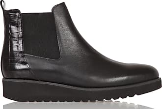 Cuir Chelsea En Croco Boots Motif Anaki qBwSTtUq
