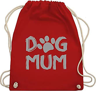 Dog Hunde Wm110 Unisize Mum Gym Turnbeutel Bag Rot Shirtracer amp; fA6qUnnw