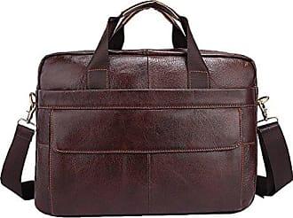 Tasche Schulter Männer Messenger Herren Mobile Computer Leder Tasche Baafg Business brown Aktentasche onesize Bag rtshQCd