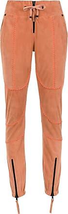 Andrea Leather Tons Neutres Skinny Bogosian Trousers qgZHwqa8