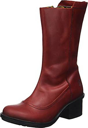 Rouge 40 Red London Femme FLY Came718fly EU Bottes gnRIXAYxq