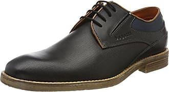 schwarz Zapatos Para 312417031000 Derby Hombre Cordones 44 Negro 1000 Bugatti De Eu nXBRUw85Uq