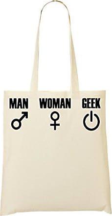 Woman Toteworld Tragetasche Man Geek Einkaufstasche f55Bwq