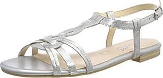 Metal 28101 Sandales Eu Bride Argent Arrière Femme silver Caprice 920 38 510dwq0Rx