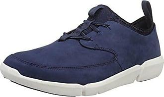 Clarks Zapatillas Hombre Eu Triflow Form blue 45 Azul Nubuck Para rqwarxETS