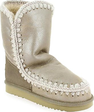 24 Boots Pour Mou Femme Eskimo Promo Argent q4087w86