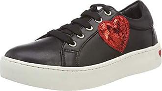 Scarpad Femme Love Moschino Eu 000 nappato Vit gomma35 Noir Sneakers nero 37 Basses RqAUwpq