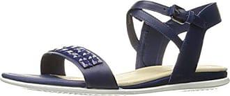 38 Touch Ecco 1139mediveval Sandal Bleu Sandales Femme Ouvert Blau Bout dqzqRA