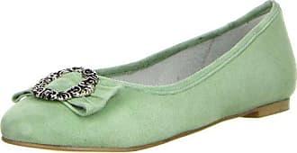 Almhaferl Vista Damen 37 Größe Ballerinas grün Farbe Grün Trachtenschuhe x4FCOwEq4