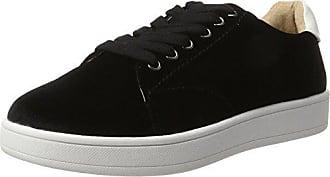 01 Eu David 4 Sneakers 16t44 Basses Buffalo 38 black Velvet Bitton Femme Noir Shoes xAOP1P