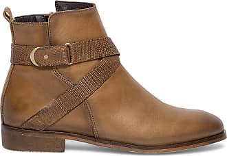 Cuir Éram Éram Boots Camel Boots Boucle RSwUqxIId