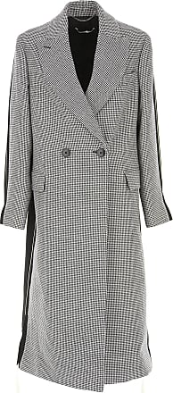 Mccartney Stella Womens 42 2017 On Sale Coat Wool Ink qFgwFRdp